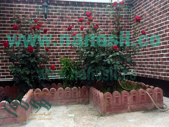 سنگ آجر نما هلندي آجري قفقازي دكوراتيو ساختمان