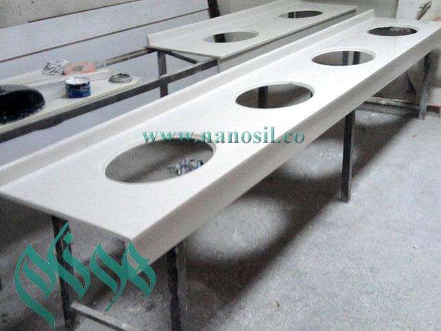 آموزش فرمول توليد ساخت سنگ اوپن - سينك ظرفشويي - مرمر - سنگ گرانيت مصنوعي
