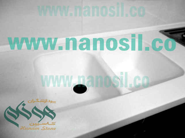 Polymer sink like corium | Semi Automatic Automatic Sink | Crushed stone marble cabinet production line