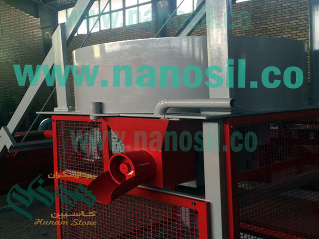 Non-standard semi-automatic production line of artificial stone of other companies