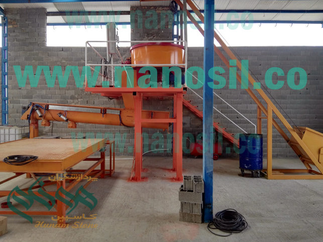 Selling the artificial stone production line with the training and launching of the stone workshop