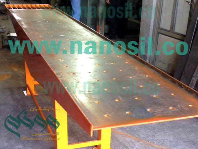 Manufacturing various types of vibration boards in various dimensions for the production of mosaics and artificial stone