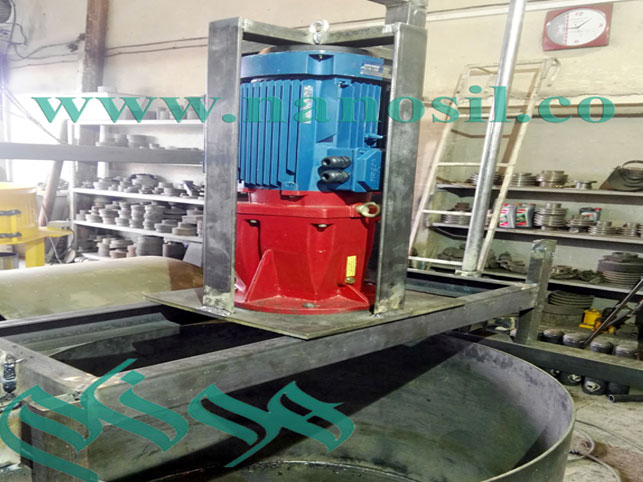 Mixer: Artificial Stone Mixer - Synthetic Granite Marble Production Line Mixer - Corin Mixer - Mixer - Cultured Marble Natural Stone Mixer - Vertical Mixer Engine
