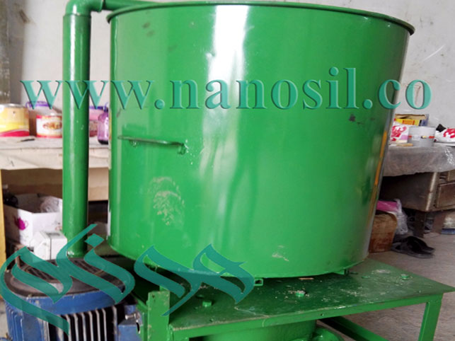 artificial stone cultured marble mixer - Laboratory mixer with a capacity of 100 to 150 kg of marble and artificial granite - A mechanical mixer with a mechanical arm.