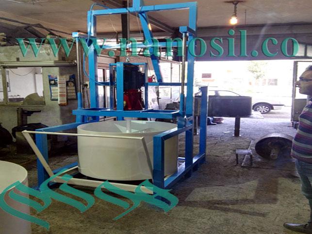 ميكسر - ميكسر سنگ مصنوعي - ميكسر توليد سنگ مصنوعي - ميكسر مرمر - ميكسر گرانيت - marble mixer