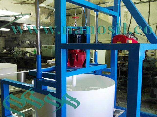 ميكسر مرمر مصنوعي - ميكسر سنگ مصنوعي - ميكسر گرانيت مصنوعي - ميكسر سنگ كابينت artificial stone marble granite mixer