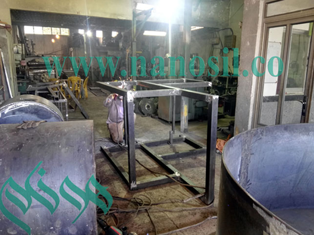 mixer - vibration table- artificial stone production line cultured marble - میکسر و میز ویبره سنگ مصنوعی مرمر و گرانیت