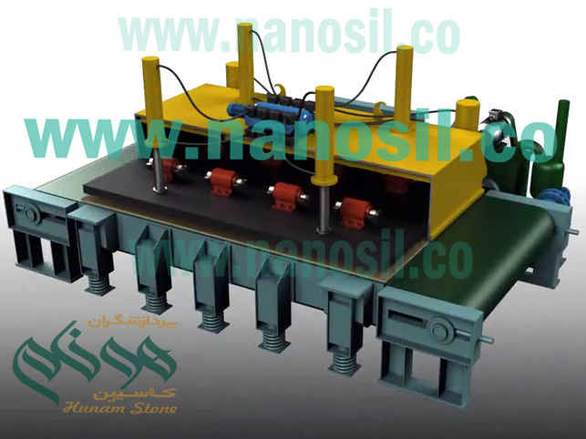Quartz artificial stone production line Vacuum vibrating press system | The production line of Quartz Slabs and similar to Quartz