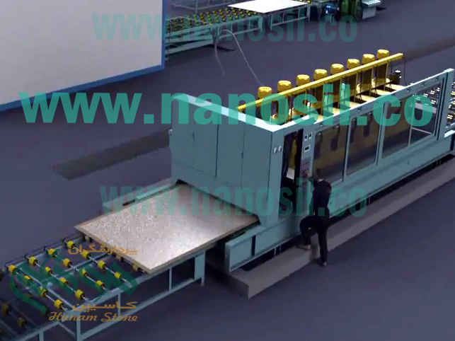 Coevorant Artificial Stone Production Line Quartz artificial stone pouring system