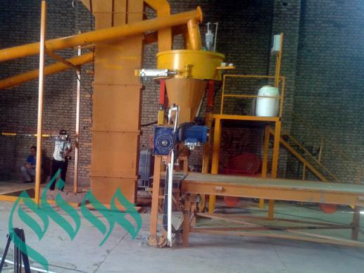 Automatic production line of Cement Plast