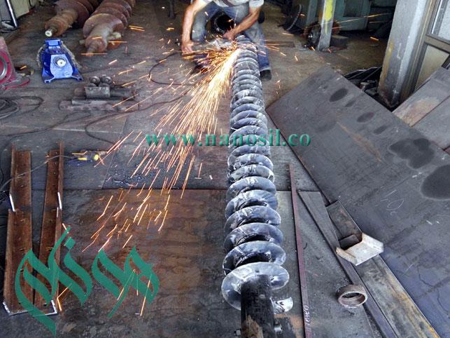 ساخت انواع قطعات و تجهیزات خط تولید سنگ مصنوعی سمنت پلاست