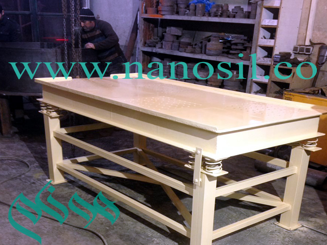 Vibrating Table Antique Nano Cement Plast / Vibrating Table / Machine Manufacturing Line