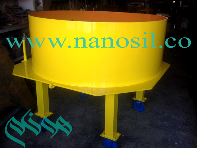 Stone Mixer / Artificial Stone Amalgamator Nano Cement Pluton Honam Artificial Stone Co.
