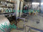 خط تولید کورین|سنگ کابینت پلیمری| میز ویبره سنگ کورین
