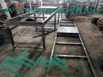 ساخت میز ویبره تولید سینک سنگ کابینت سنگ مصنوعی مشابه کورین مرمر گرانیت