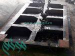 فروش میز ویبره تولید سنگ آنتیک موزاییک 100*200