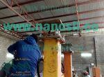 خط تولید اتوماتیک سنگ مصنوعی و چسب کاشی نصب شده در بحرین