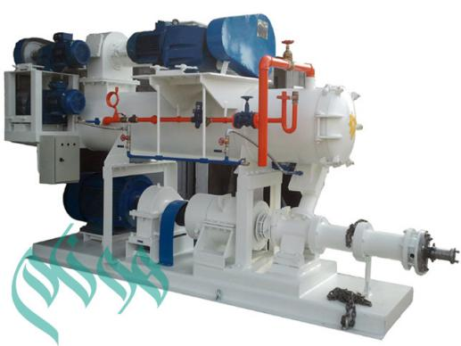 Extruder of soybean plant protein production line with capacity of 500 kg per hour