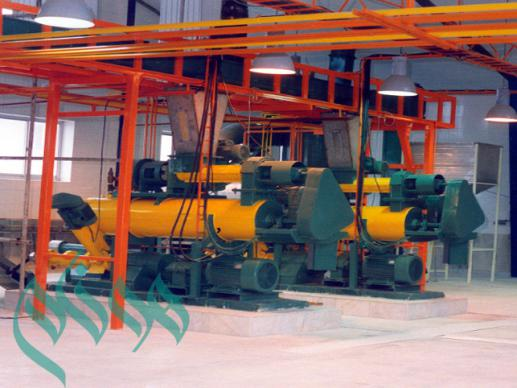 Soybean plant protein production line