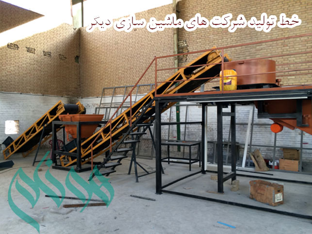 Comparison of machines for the production line of Cement Plast Co. of hunam and other companies