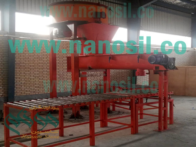 Installation of quartz production line, Artificial stone tombstone