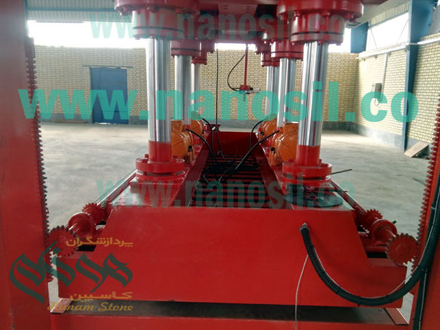 Artificial stone: Quartz stone production line, Artificial stone tile press machine