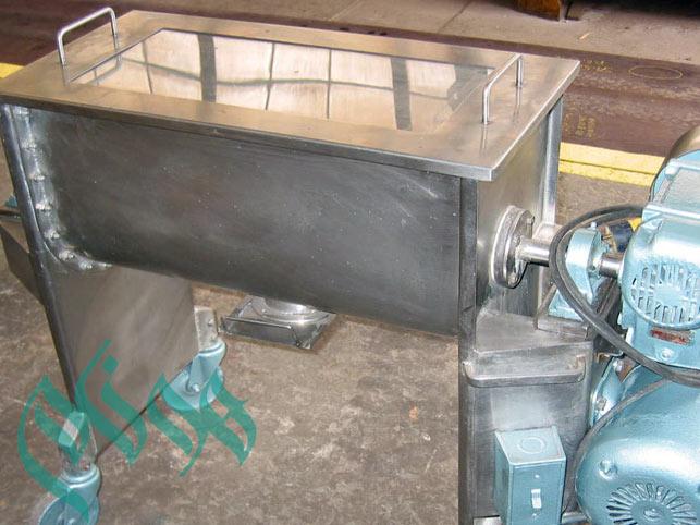 میکسر ساخت چسب خمیری-میکسر ساخت چسب کاشی پودری - میکسر ساخت چسب بتن- ساخت انواع میکسر و خط تولید