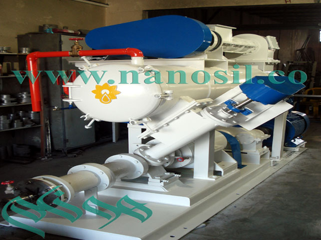 Soybean and stone production line Bagheri Machine: production of various production lines and soybeans with capacity of 500 kg / h