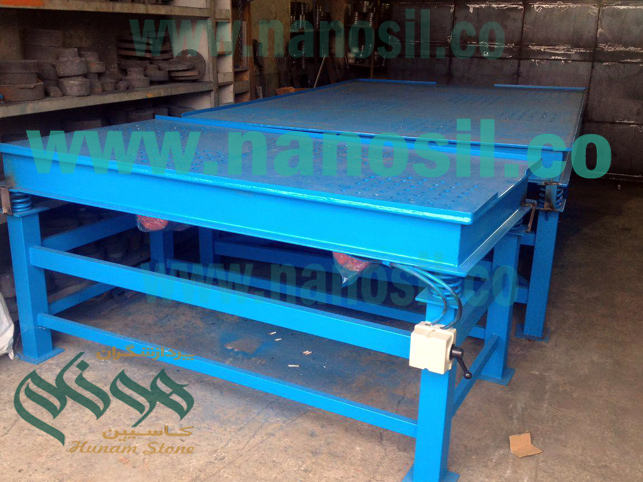 Artificial Stone Standard Vibrating Table 100 * 200 | Vibrating table Artistic stone production Standard Plast 200 * 300