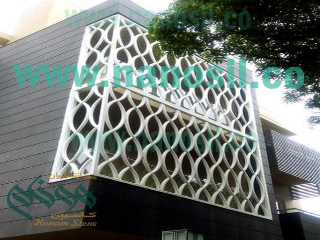 نما مدرن ساختمان | سنگ مصنوعی مدرن اسلیمی حجاری | سنگ آنتیک gfrc | آموزش فرمول خط تولید سنگ مصنوعی gfrc