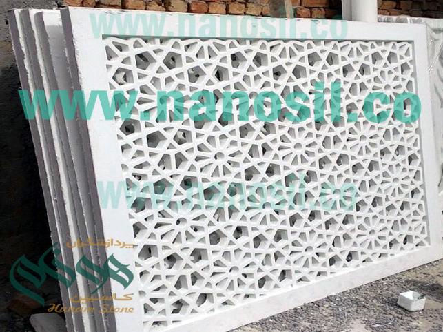 سنگ gfrc چیست|gfrc آموزش تولید ساخت خط تولید| کاربرد سنگ مصنوعی اسلیمی حجاری gfrc
