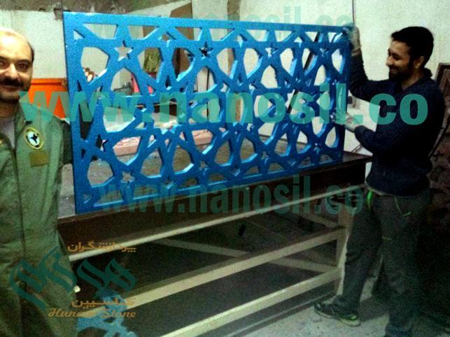 آموزش فرمول ساخت تولید سنگ اسلیمی مصنوعی gfrc | سنگ مصنوعی اسلیمی حجاری gfrc