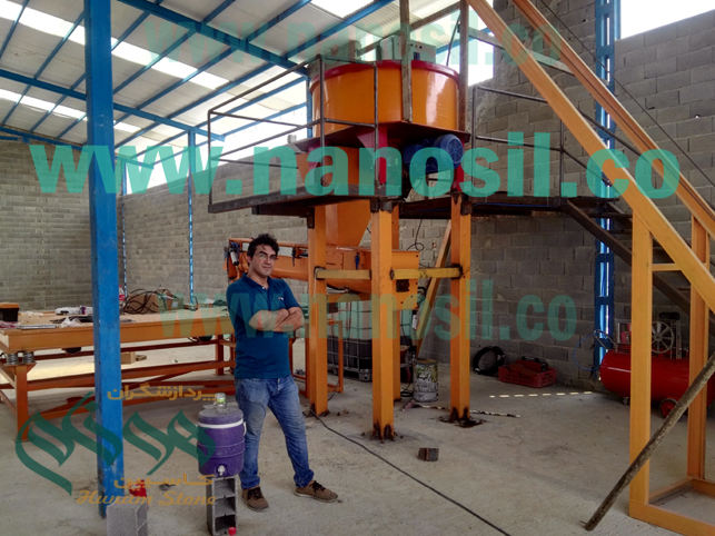 Start of secondary installation of Semi-Automatic Plate Semiconductor Artificial Stone Production Line