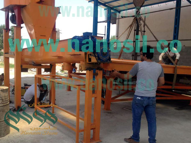Artificial Stone Impregnation of Plast Cement