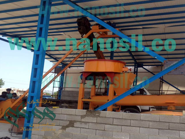 Artificial stone production line of Plast Cement with the ability to produce all kinds of facade of the building, flooring and mosaic of polymer, city tables and ceilings
