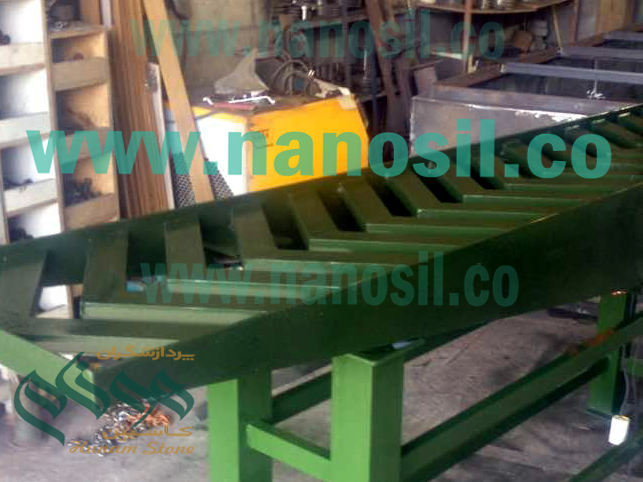 Vibration Mosaic & Concrete Parts Mobile vibrating table