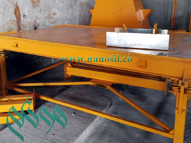 Vibrating table artificial stone production line of foam cement artificial stone machine