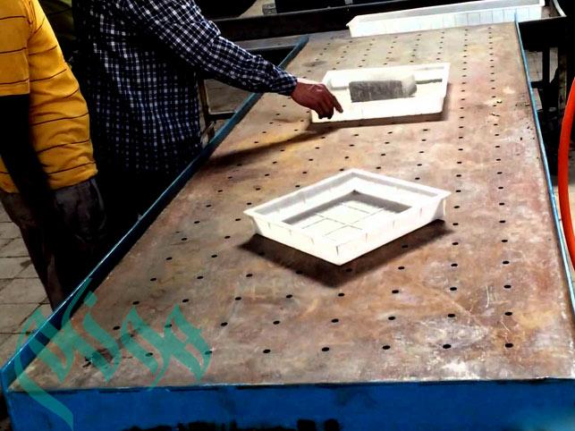 میز ویبره سنگ مصنوعی سمنت پلاست | میز ویبره غیر قابل ارتقاء ...میز ویبره - میز ویبره سنگ مصنوعی نانو سمنت پلاست - میز ویبره موزاییک سمنت پلاست